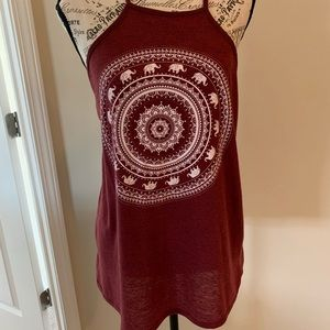 Charlotte Russe tank size large